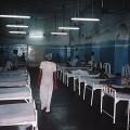 Scary looking hospital ward
