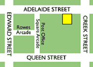 Brisbane CBD Clinic Map