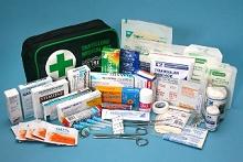 Travellers medical kit